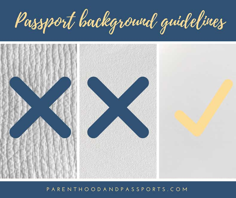 Passport background guidelines