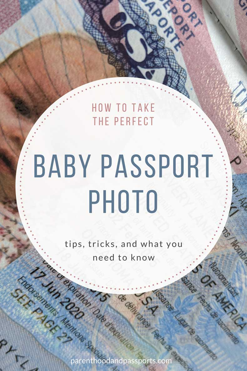 Tips for taking the perfect infant passport photo