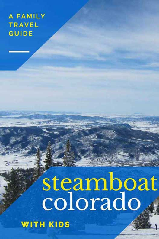 Things to do in Steamboat Springs Colorado in winter. Everything a parent needs to know - from childcare, to where to stay in Steamboat and family-friendly activities. Plus, a guide to skiing in Steamboat, the terrain, the base, and the snow.