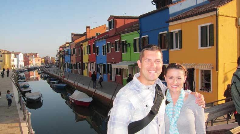 Venice Italy Burano - colorful places around the world