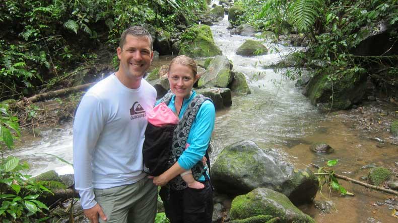 Hanging Bridges Costa Rica - using essential oil mosquito repellent