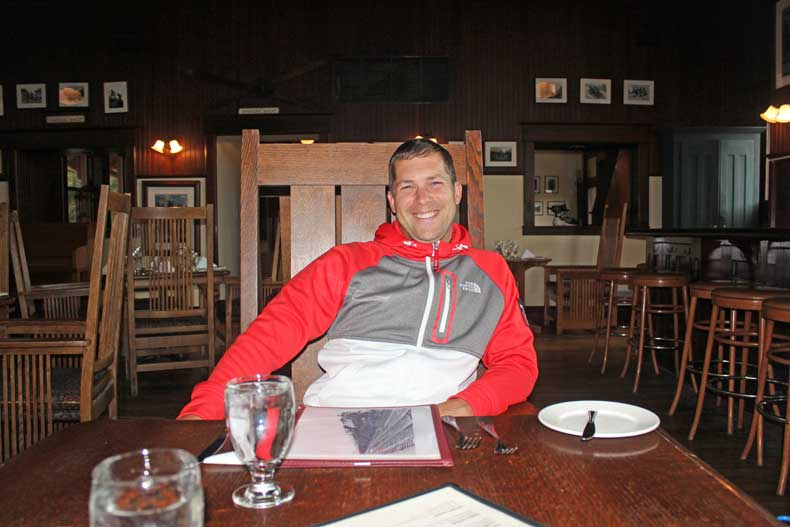 Parenthood and Passports - Dining in Banff Lake Louise