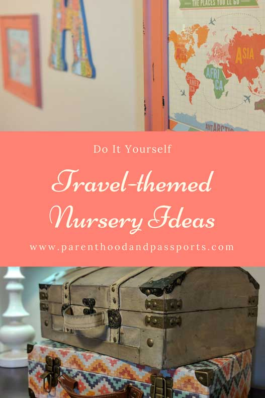 Parenthood and Passports - Travel nursery theme