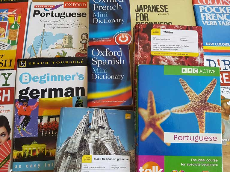 books of languages for travel