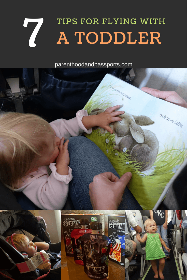 7 tips for flying with a toddler - Parenthood and Passports