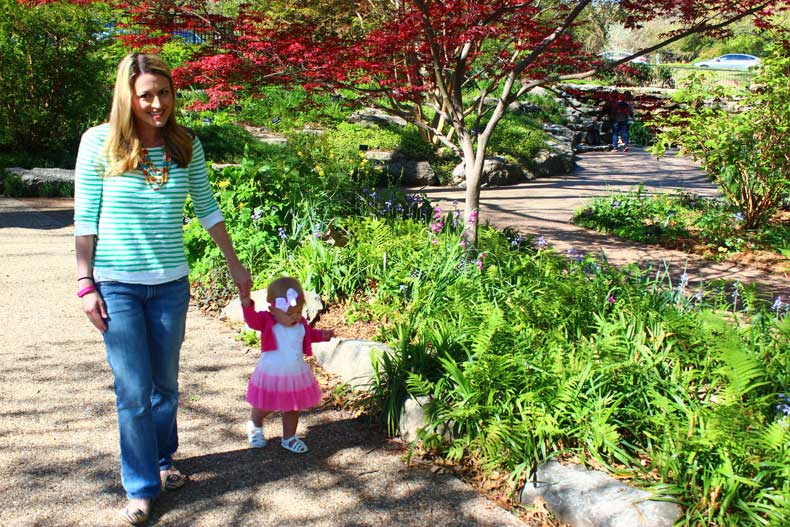Parenthood and Passports - Fort Worth Botanic Garden