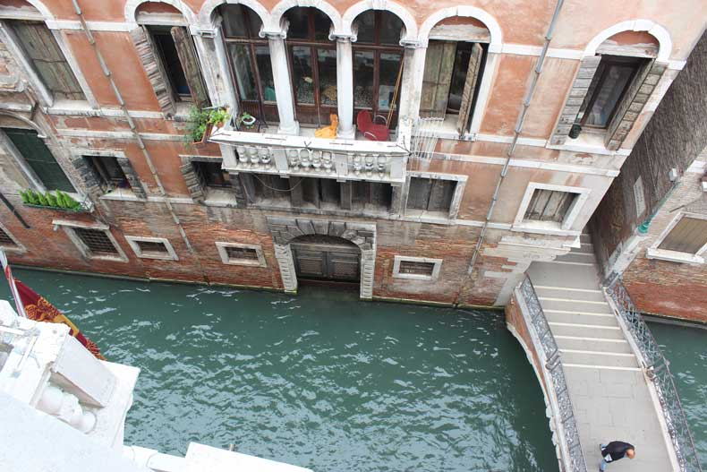 hotels with a canal view in Venice - Ruzzini
