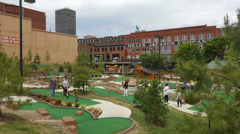Things to do in Bricktown OKC
