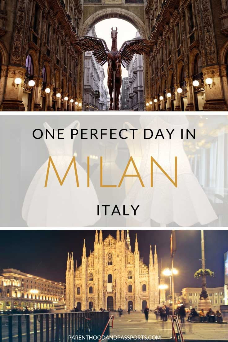 How to spend one Day in Milan, Italy - the perfect itinerary for 24 hours in Milan, the fashion capital of Italy. A perfect layover destination in Europe, here the top things to do in Milan in a day. #milan #italy #europe