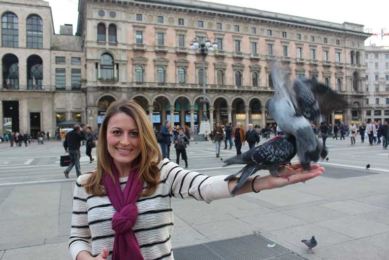 Milan 24 hours - outside the Duomo and Galleria Vittorio