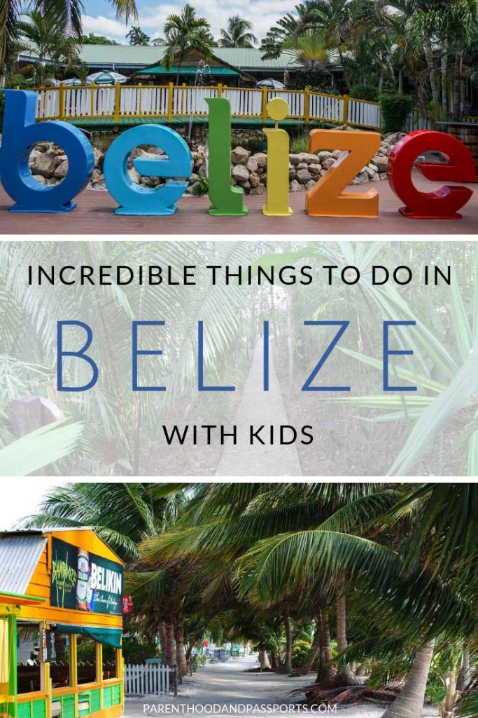 Looking to plan a trip to Belize with kids? This detailed Belize itinerary covers both western Belize and the islands, making for a fun, adventurous Belize family vacation. Click through for tips and the top things to do if you have one week in Belize. #belize #familytravel #centralamerica