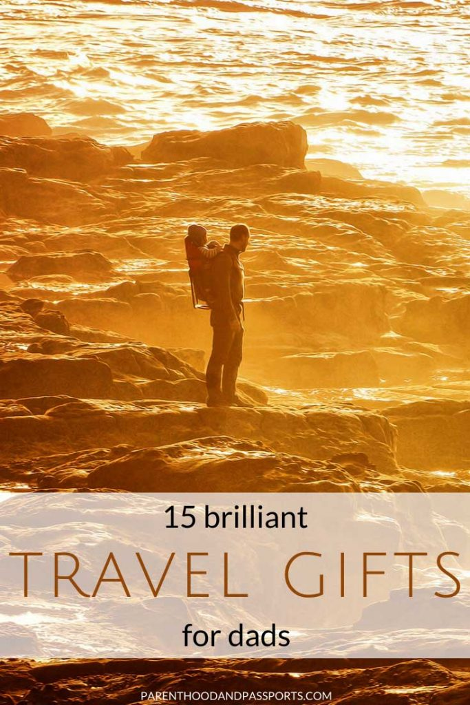 Looking for a unique travel gift for men? Here are 15 awesome travel-inspired Father's Day gifts for dads. | father's day gifts | gifts for travelers | gift ideas for men | gift ideas for dads | travel gifts | travel-inspired gifts | travel gift ideas