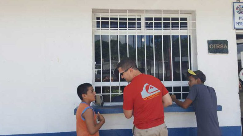 translators at the Belize-Guatemala border