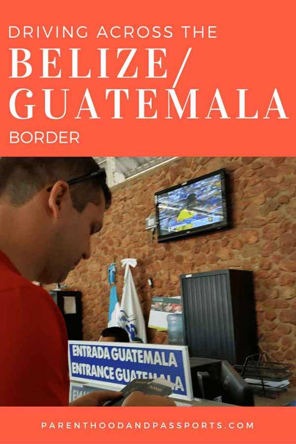belize-guatemala border