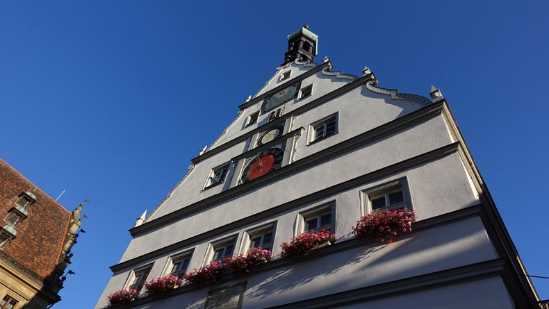 Rothenburg ob der tauber clock