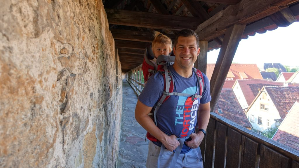 Things to do in Rothenburg ob der tauber with kids - walk on wall