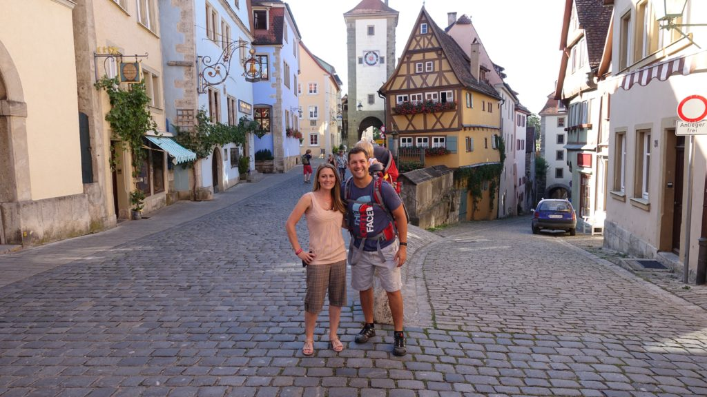 Rothenburg ob der tauber - charming village in Germany