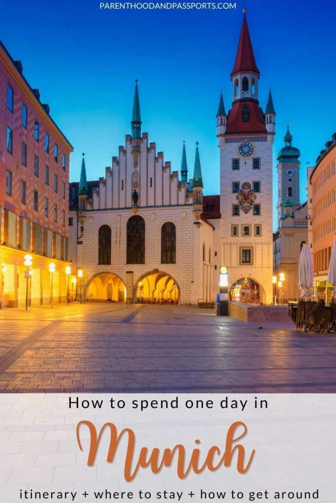One day itinerary - Munich, Germany | How to spend one day in Munich | What to see in Munich Germany | things to do in Munich | Munich travel | Bavaria travel | Munich itinerary