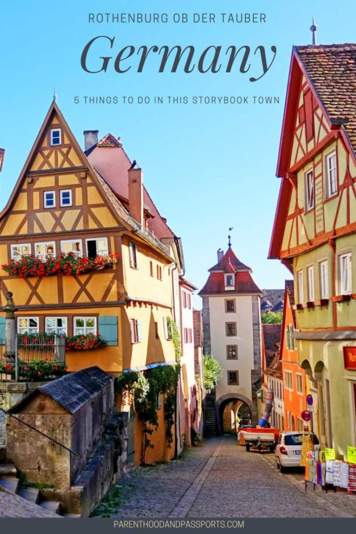 Things to do in Rothenburg ob der Tauber, Germany