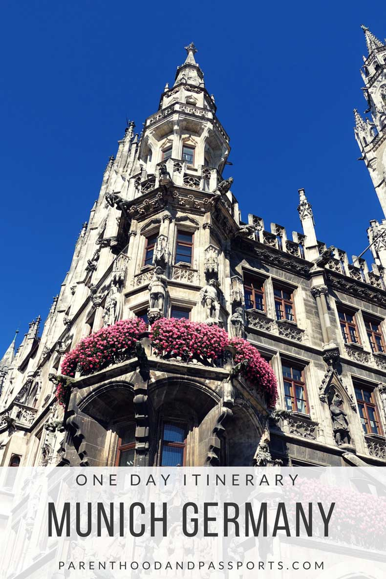 One day itinerary - Munich, Germany