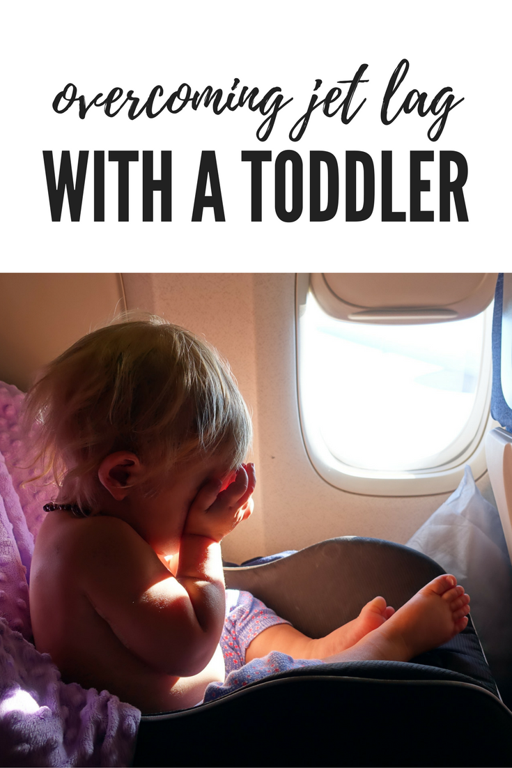 Jet lag with a baby a toddler