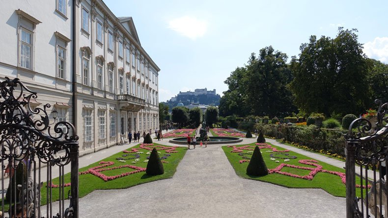 One day in Salzburg - Mirabell Garden