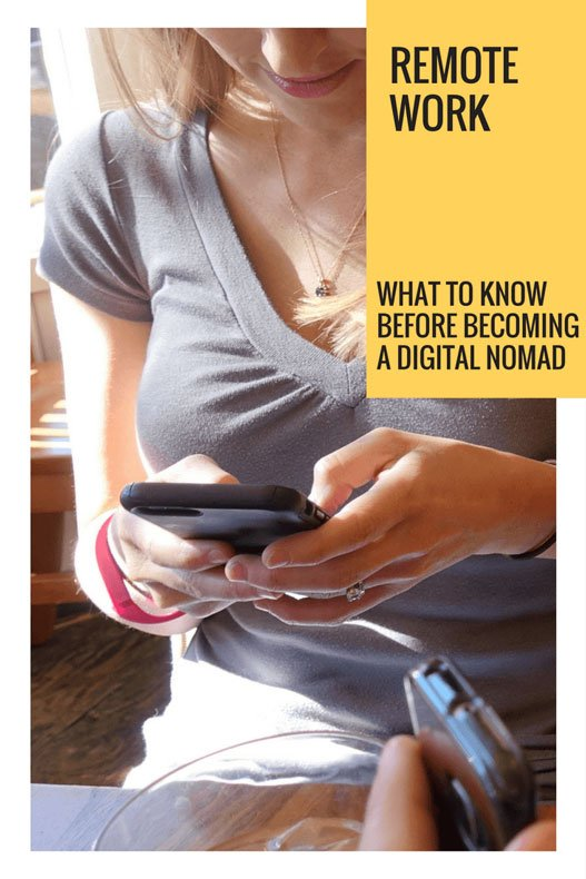 Remote work - things to know about the digital nomad lifestyle