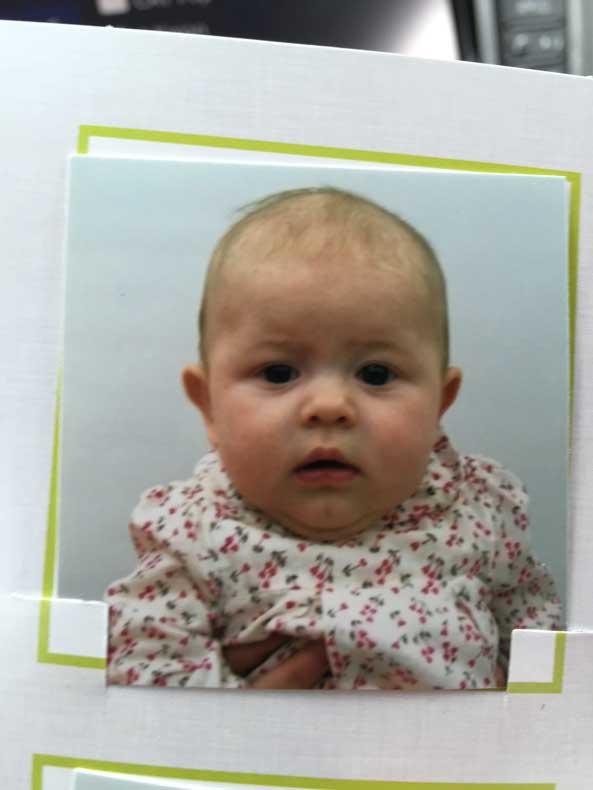 Parenthood and Passports - Baby Passport Photo