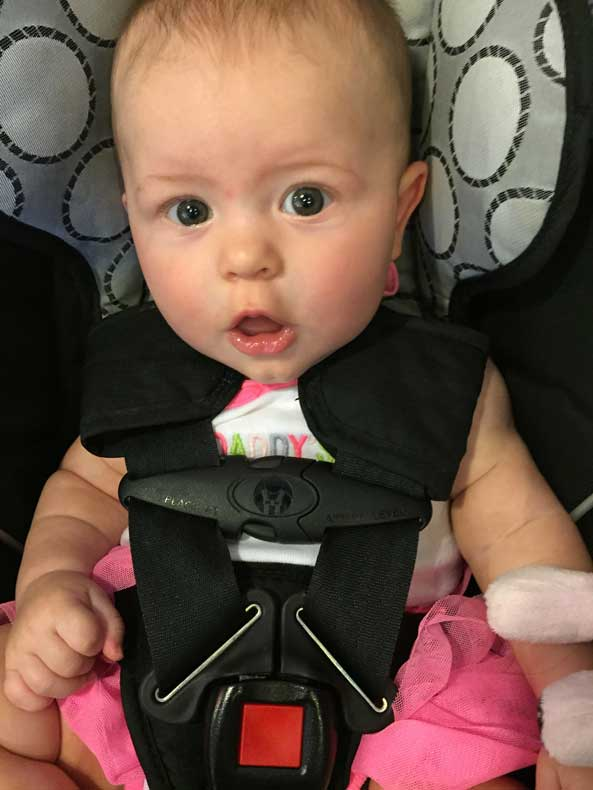 Parenthood and Passports - Road trip with a baby