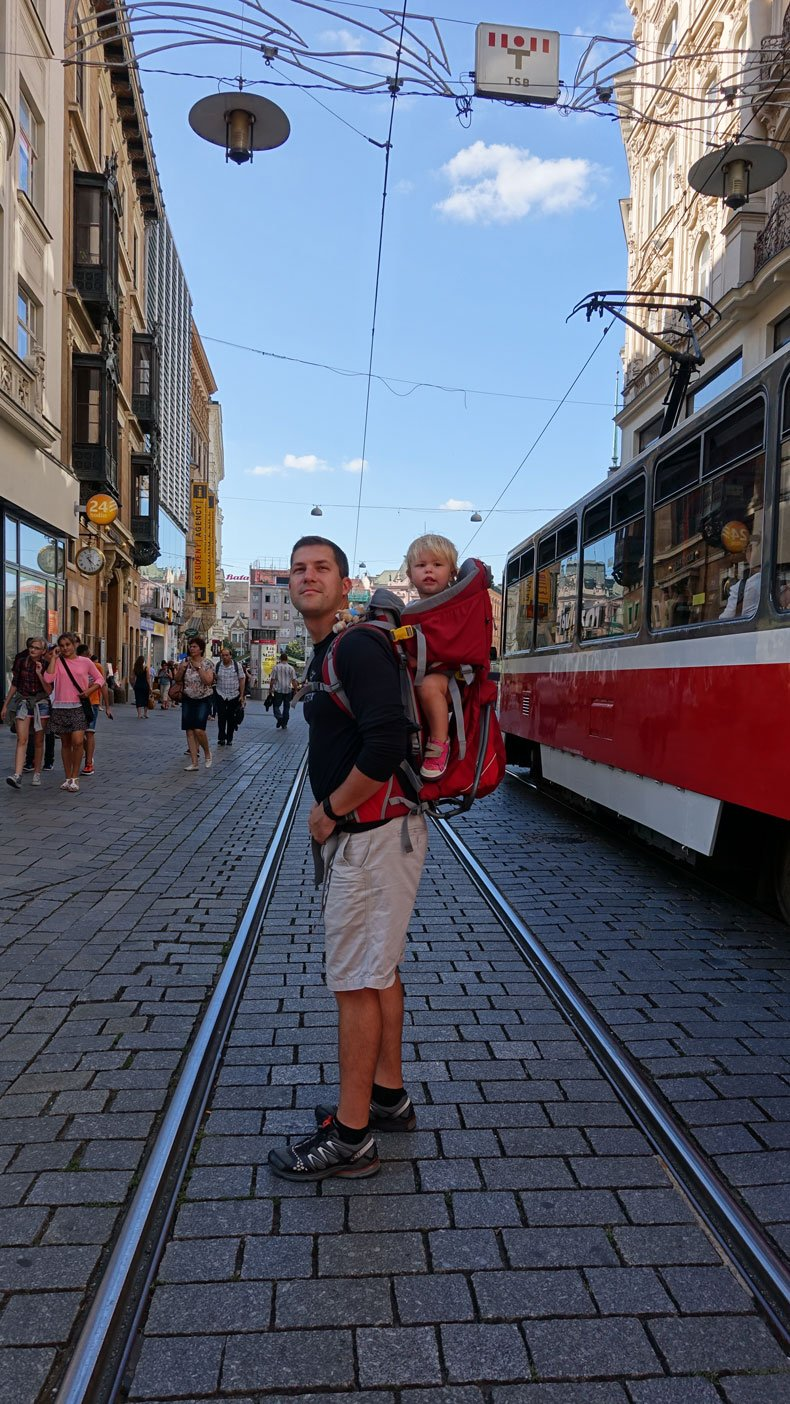 Brno Czech republic with kids