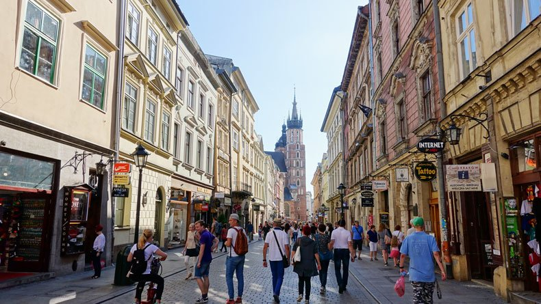 Attractions in Krakow Poland - Old Town