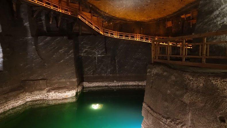 Wieliczka salt mines tour