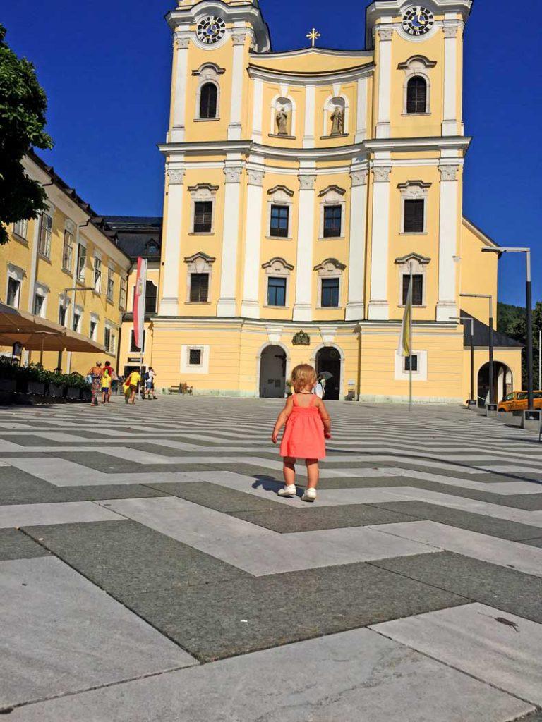 St. Michael's Basilica in Mondsee Austria