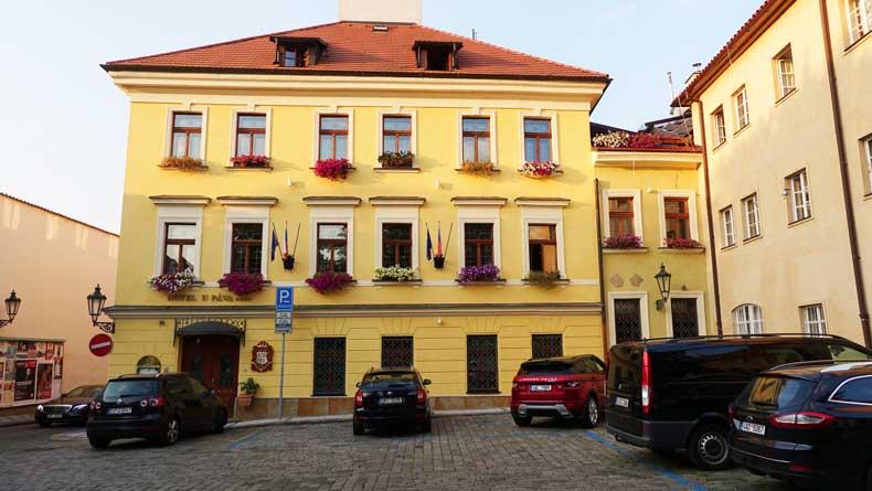 Parenthood and Passports - Hotel U Pava Prague