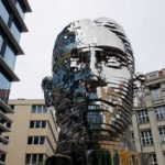 9 funky statues in Prague, Czech Republic