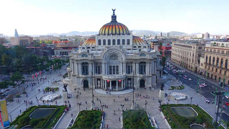 Palacio de Belles Artes - Mexico City 3 day itinerary