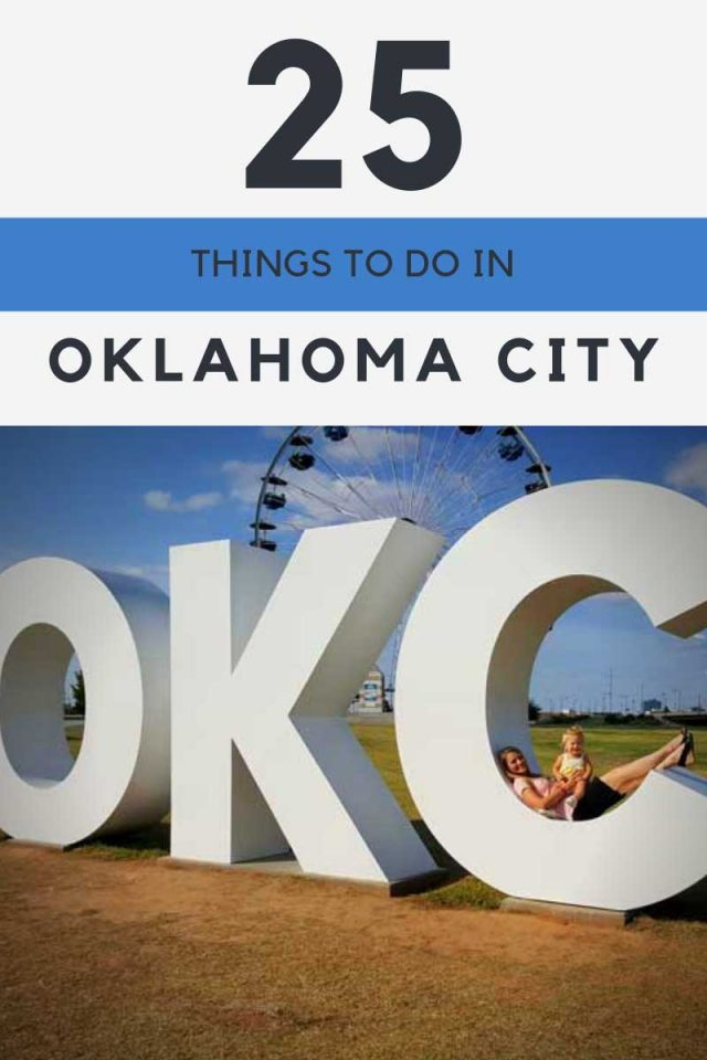 25 fun things to do in OKC with kids. A look at some of the best things to family things to do in Oklahoma City with kids. #oklahoma