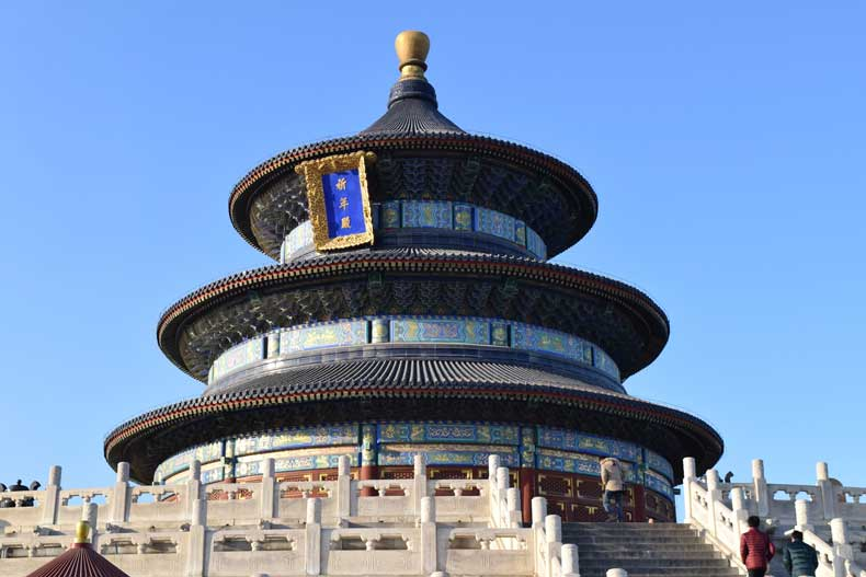 Beijing 1-day itinerary should include the temple of heaven