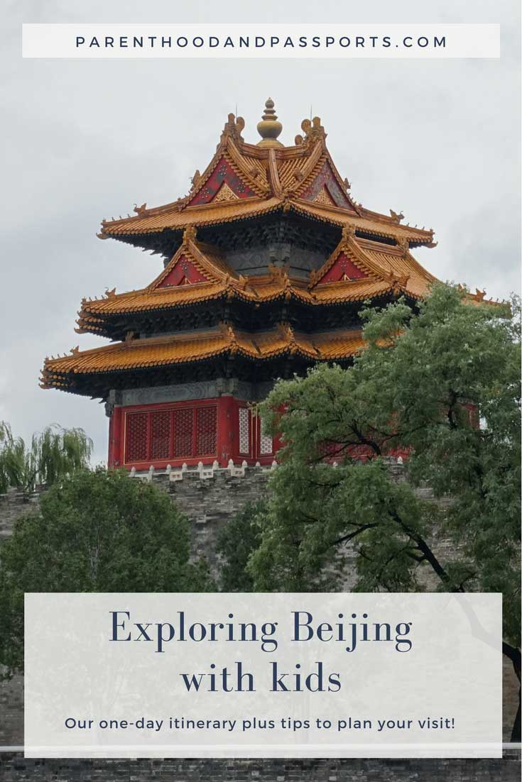 Beijing, China with kids