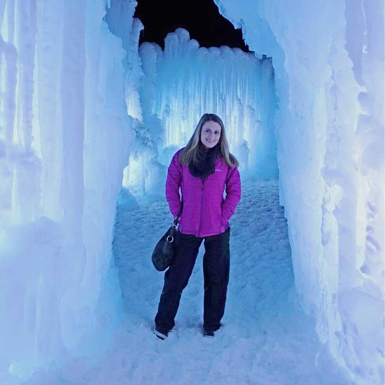 Midway Ice Castles Utah