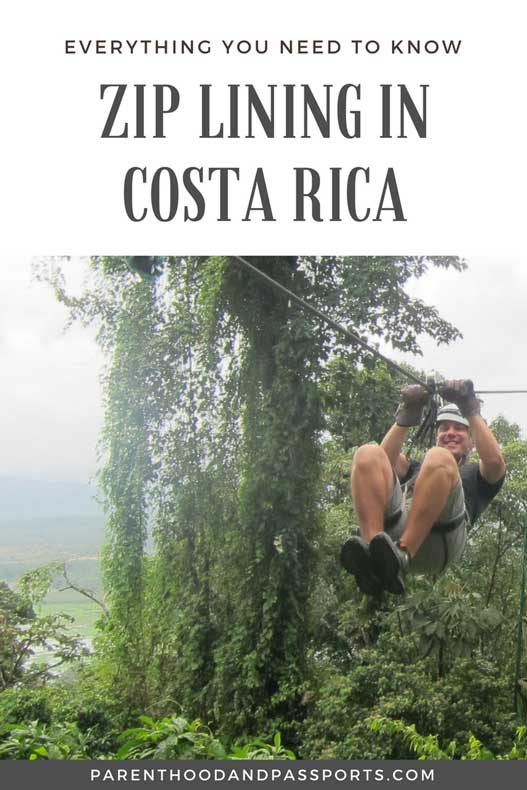 Costa Rica Ziplining Arenal