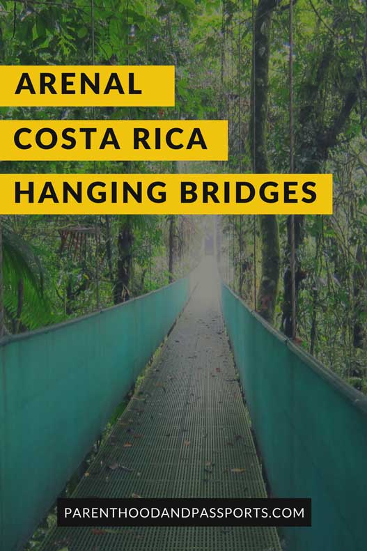 Arenal hanging bridges Costa Rica
