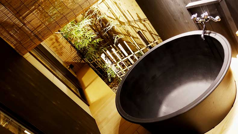 Where to stay Kyoto-Rinn Gion yasakamae outdoor tub