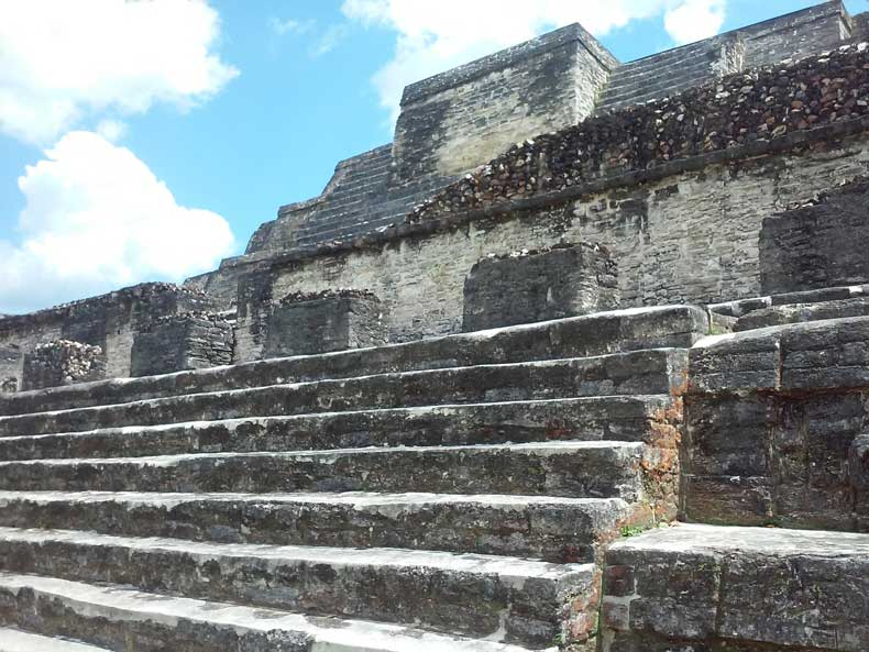 Mayan ruins San Ignacio Belize