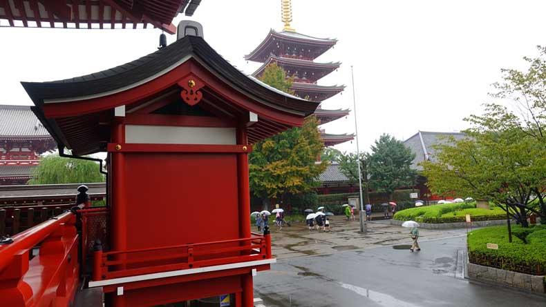Tokyo with kids -Sensoji temple