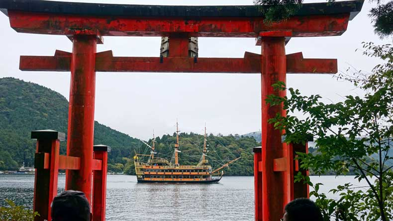 hakone japan lake ashi cruise