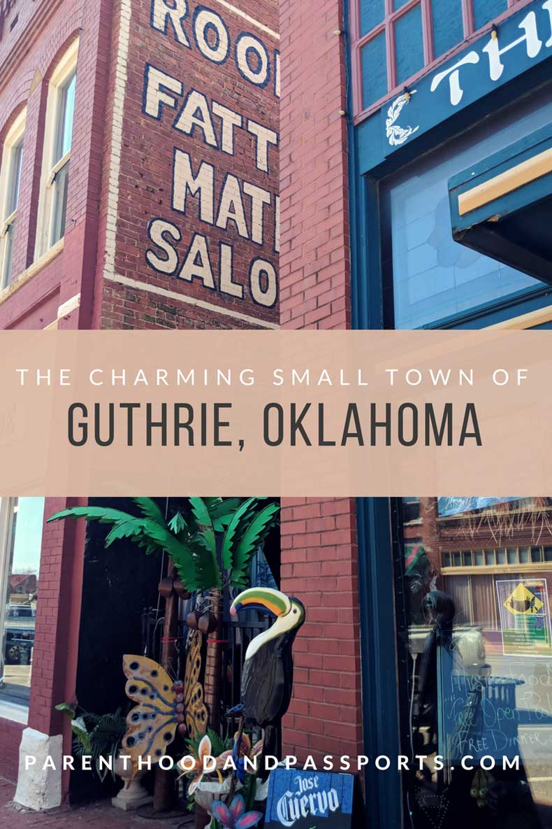 Best small town in Oklahoma- Guthrie