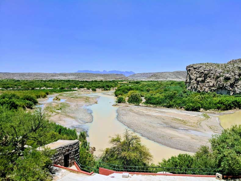 Boquillas Mexico border town