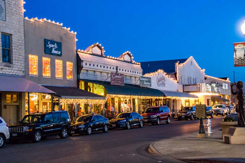 Best small towns in the USA - Granbury Texas