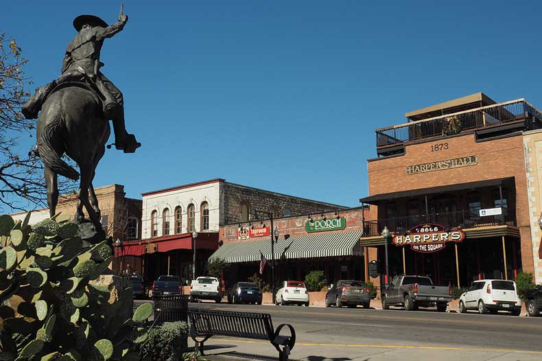 Small towns in US san_marcos